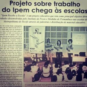 clipping ipem - Diário Oficial